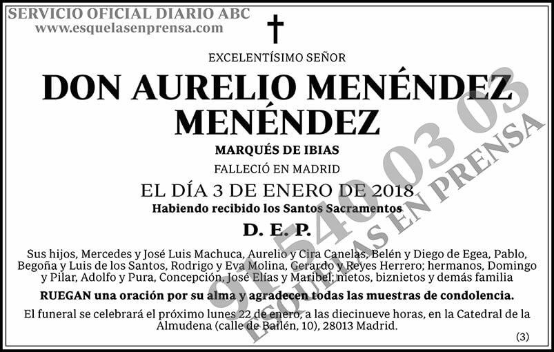Aurelio Menéndez Menéndez
